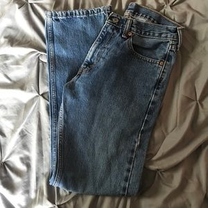 Vintage 505 Levi Straight Leg Mom Jeans